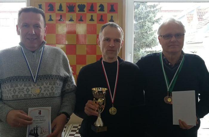 Baigėsi Panevėžio šachmatų klubo pirmenybės